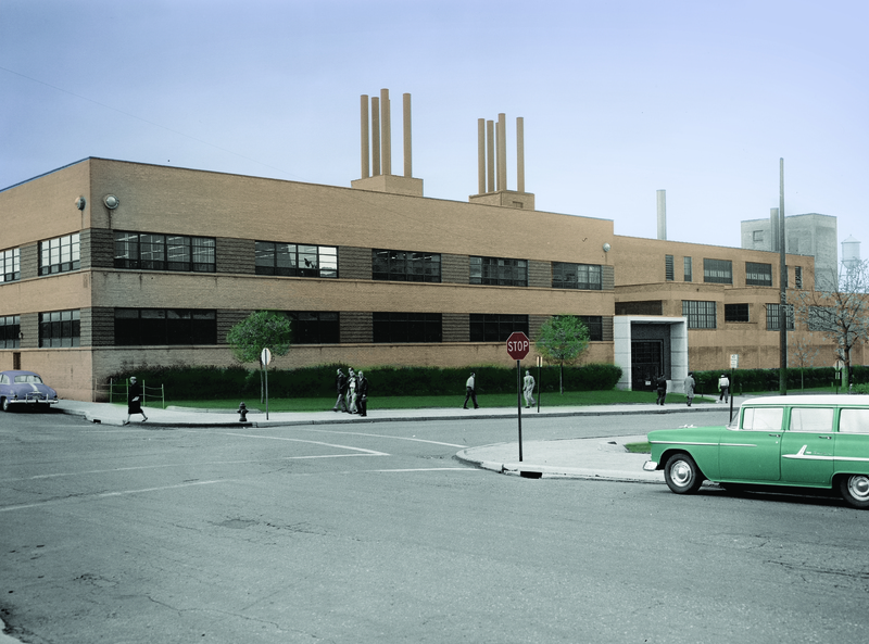 Buildings 22 and 24, 1952
