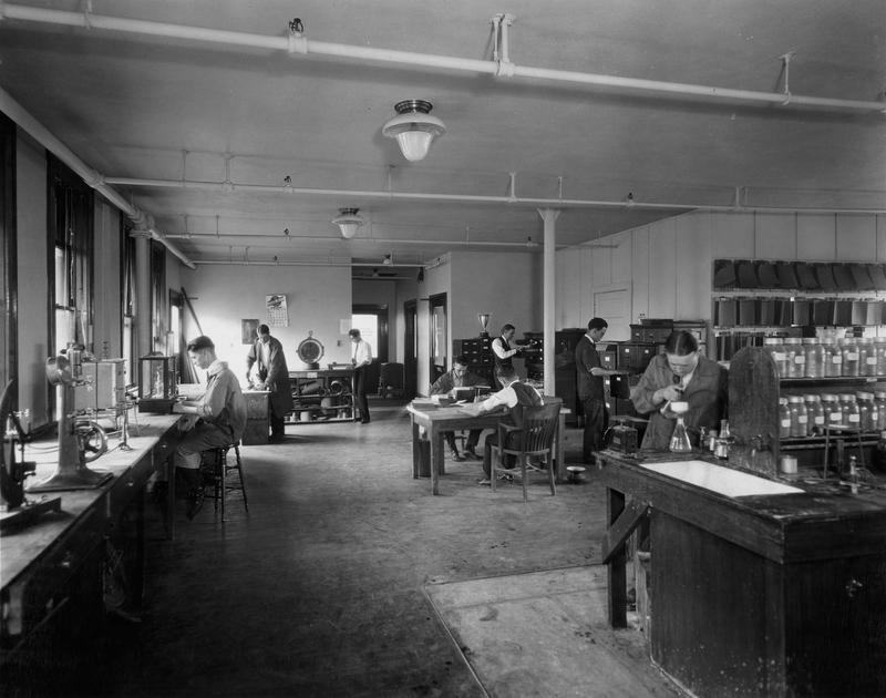 Laboratory, 1920's