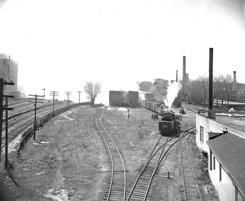 Railroad Junction on the East Side of Saint Paul